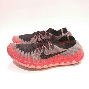 Mens Nike 3.0 Flyknit Size 12 Red Orange 636232 60